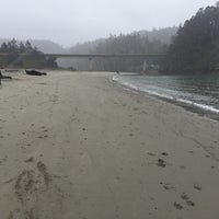 Photo taken at Big River Beach by Eric C. on 3/18/2017