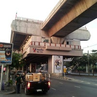 Photo taken at BTS Mo Chit (N8) by Narong W. on 12/14/2012