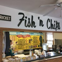 Photo taken at Sir Cricket's Fish & Chips by Michael D. on 10/4/2016