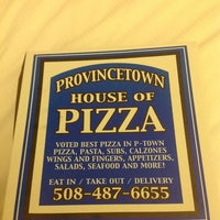 Photo taken at Provincetown House Of Pizza by Michael D. on 9/22/2013