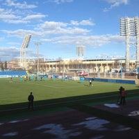 Снимок сделан в Малая спортивная арена «Петровский» пользователем Ivan S. 4/20/2013
