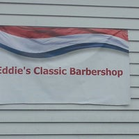 Photo taken at Eddie's Classic Barbershop by Kara on 10/23/2013