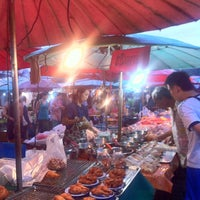 Photo taken at Yaek Krungthep Kritha Market by KA W. on 9/7/2013