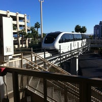Photo taken at Las Vegas Monorail - MGM Grand Monorail Station by Kay B. on 11/12/2012