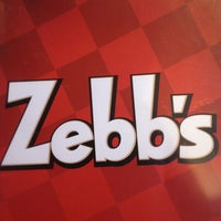 Photo taken at Zebb's Deluxe Grill & Bar by Adam S. on 4/7/2013