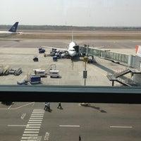 Photo taken at Rajiv Gandhi International Airport (HYD) by Sean R. on 3/21/2013