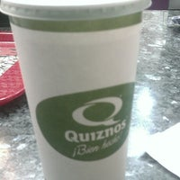 Photo taken at Quiznos Sub by Juan P. on 4/13/2013