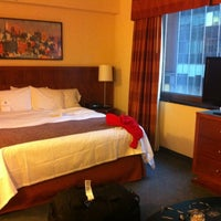 Photo taken at Residence Inn by Marriott New York Manhattan/Times Square by Nayef A. on 12/21/2012