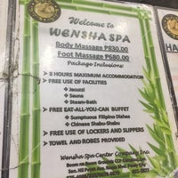 Photo taken at Wensha Spa by Mike M. on 12/4/2016