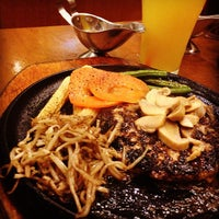 Photo taken at The Sizzlin' Pepper Steak by Aljon F. on 6/4/2013