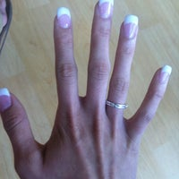 Photo taken at Apple Nails Salon by Becca J. on 3/18/2013
