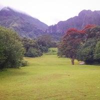 Photo taken at Ko'olau Golf Club by Jordan K. on 1/3/2015