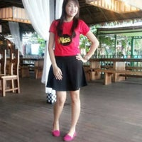 Photo taken at Jimbaran Cafe & Resto by Fitry D. on 4/6/2014