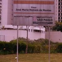 Photo taken at Praça José Maria Homem de Montes by Alexandre A. on 10/29/2013