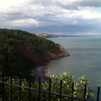 Photo taken at Babbacombe Cliff Railway by Saras T. on 9/6/2013