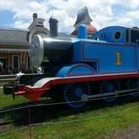 Photo taken at Conway Scenic Railroad by Alana O. on 7/20/2013