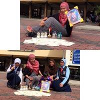 Photo taken at SMK Bandar Puchong Jaya (A) by லியா எலியாவிடமும் on 11/18/2014