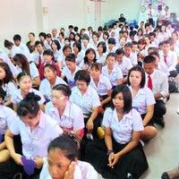 Photo taken at คณะศิลปศาสตร์ มหาวิทยาลัยกรุงเทพธนบุรี by Poppie0625 P. on 6/2/2013