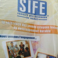 Photo taken at Faculté Des Sciences Mohamed V by Mohammed E. on 4/5/2013