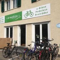 Photo taken at e-motion e-Bike Premium-Shop Bonn by Joas K. on 7/13/2013