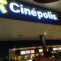 Photo taken at Cinépolis by Zheila Pucheta on 7/2/2013