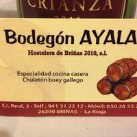 Photo taken at Bodegon Ayala by Eliecer L. on 8/20/2014