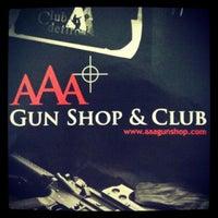 Photo taken at AAA Gun Club & Shop by AAA G. on 6/14/2013