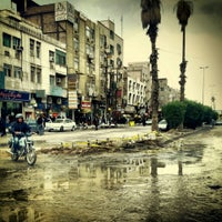 Photo taken at Naderi Crossroad by Hadi M. on 3/26/2013
