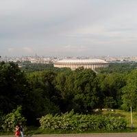 Снимок сделан в Природный заказник «Воробьёвы горы» пользователем Артем П. 6/2/2013