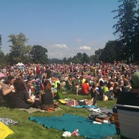 Photo taken at Marymoor Amphitheatre by Rebecca R. on 8/10/2013