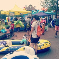 Photo taken at The Big Float by Rebecca R. on 7/28/2013