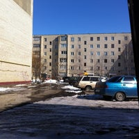 Photo taken at 3 пятак п.Строитель by Lesha🉐 K. on 3/29/2013