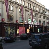 Снимок сделан в Nikolskaya Plaza пользователем Berry 4/24/2013