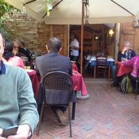 Photo taken at Trattoria Latte di Luna by Flavia P. on 10/11/2013