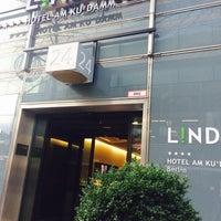 Photo taken at Lindner Hotel am Ku'Damm by Petra M. on 12/4/2016
