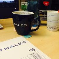 Photo taken at Thales Deutschland HQ by Petra M. on 11/13/2014