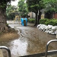 Photo taken at 豊島区立高田第二公園 by トーマス恵美理 on 9/3/2018