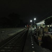 Photo taken at Lam Phun Railway Station (SRT1216) by Nutcha P. on 12/15/2016