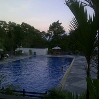 Photo taken at Total E&P Indonesie Swimming Pool by Ariestyowati A. on 4/20/2013