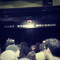 Photo taken at Easy Street Records by Katie M. on 1/19/2013