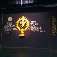 Photo taken at Karnataka highschool auditorium by Amar S. on 11/29/2013