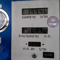 Photo taken at สถานีบริการ ngv พรีเมียร์พระรามเก้า by Ling 蔡. on 1/1/2014