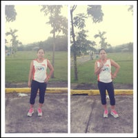 Photo taken at Taytay Memorial Garden by raibecca18 on 10/27/2013