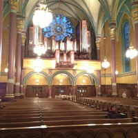 Photo taken at Cathedral of the Madeleine by Kristen P. on 4/11/2013