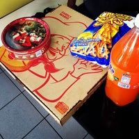 Photo taken at Mario's Pizza, Chaguanas - Main Rd. by Jordan S. on 12/20/2013