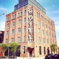 Photo taken at Wythe Hotel by Richard B. on 10/6/2012