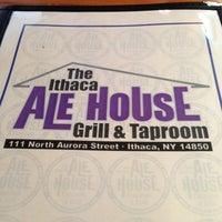 Photo taken at Ithaca Ale House by Jennifer J. on 4/21/2013