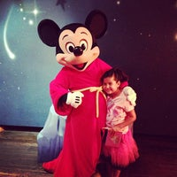 Photo taken at Mickey's House and Meet Mickey by Luis F. on 5/24/2013