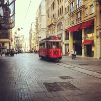 Photo taken at Taksim by Nadide A. on 7/8/2013