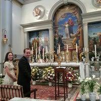 Photo taken at Church of Saint Agnes by Matt G. on 4/6/2013